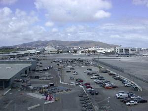 San Francisco Flughafen Ankunft