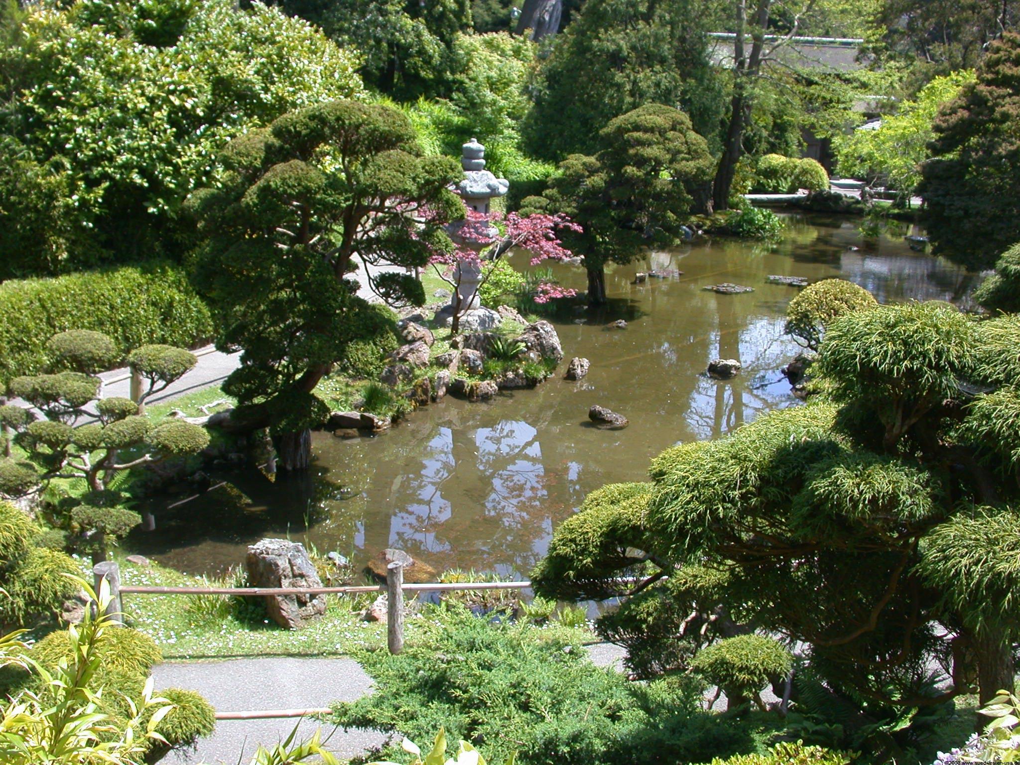 Japanese Tea Garden Japanischer Garten Im Golden Gate Park