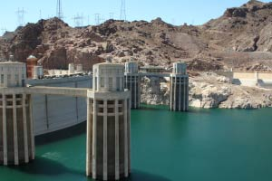 Hoover Dam, Nevada, Arizona
