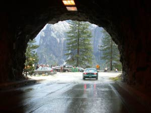 Tunnel View, Yosemite, Kalifornien