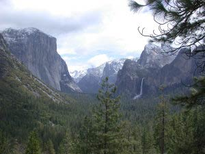 El Capitan, Half Dome, Tunnel View, Yosemite, Kalifornien