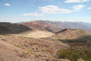 Dantes View, Death Valley, Kalifornien
