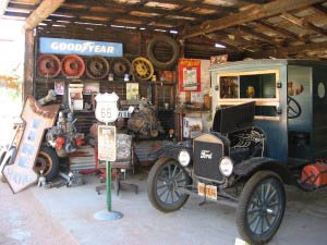 Ford Model T, Hackberry General Store, Hackberry, Route 66, Arizona