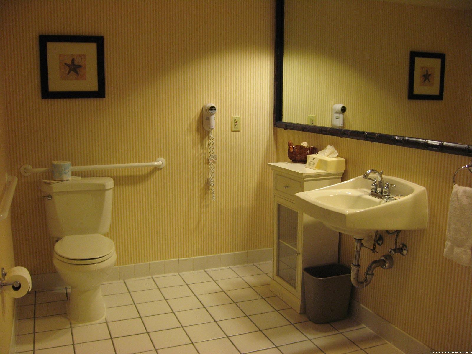 san diego an- und unterkunft 2006 - vom joshua tree zum best, Badezimmer