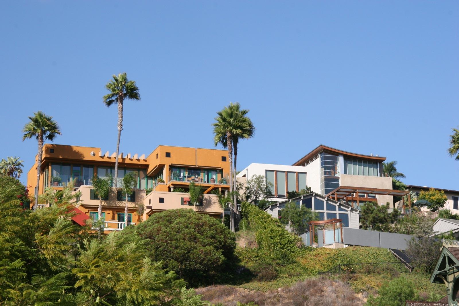 San Diego Heritage Park - Viktorianische Häuser der Old Town
