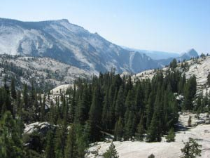 Olmsted Point, Half Dome, Tioga Pass, Yosemite, Kalifornien
