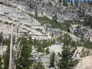 Olmsted Point, Tioga Pass, Yosemite, Kalifornien