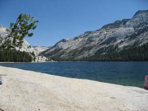 Tenaya Lake, Tioga Pass, Yosemite, Kalifornien