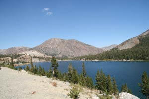 Tioga Lake, Tioga Pass, Yosemite, Kalifornien
