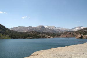 Ellery Lake, Tioga Pass, Yosemite, Kalifornien