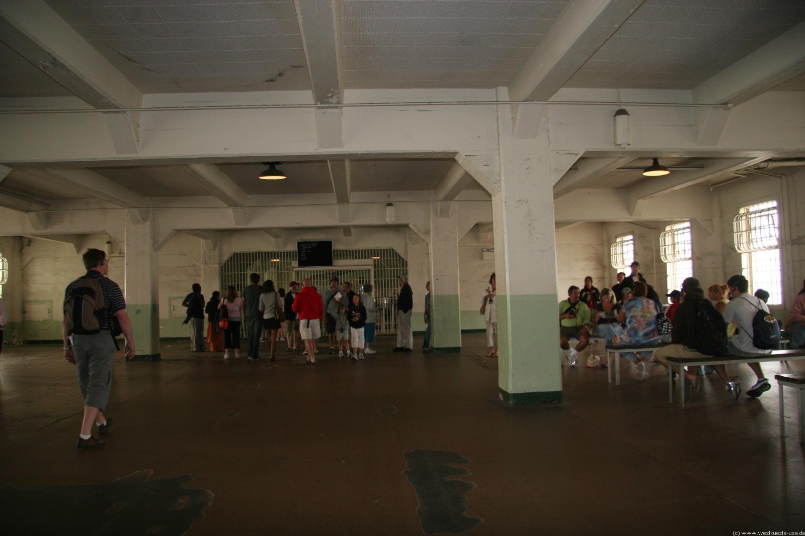 Alcatraz - Der Zellentrakt des Gefängnis