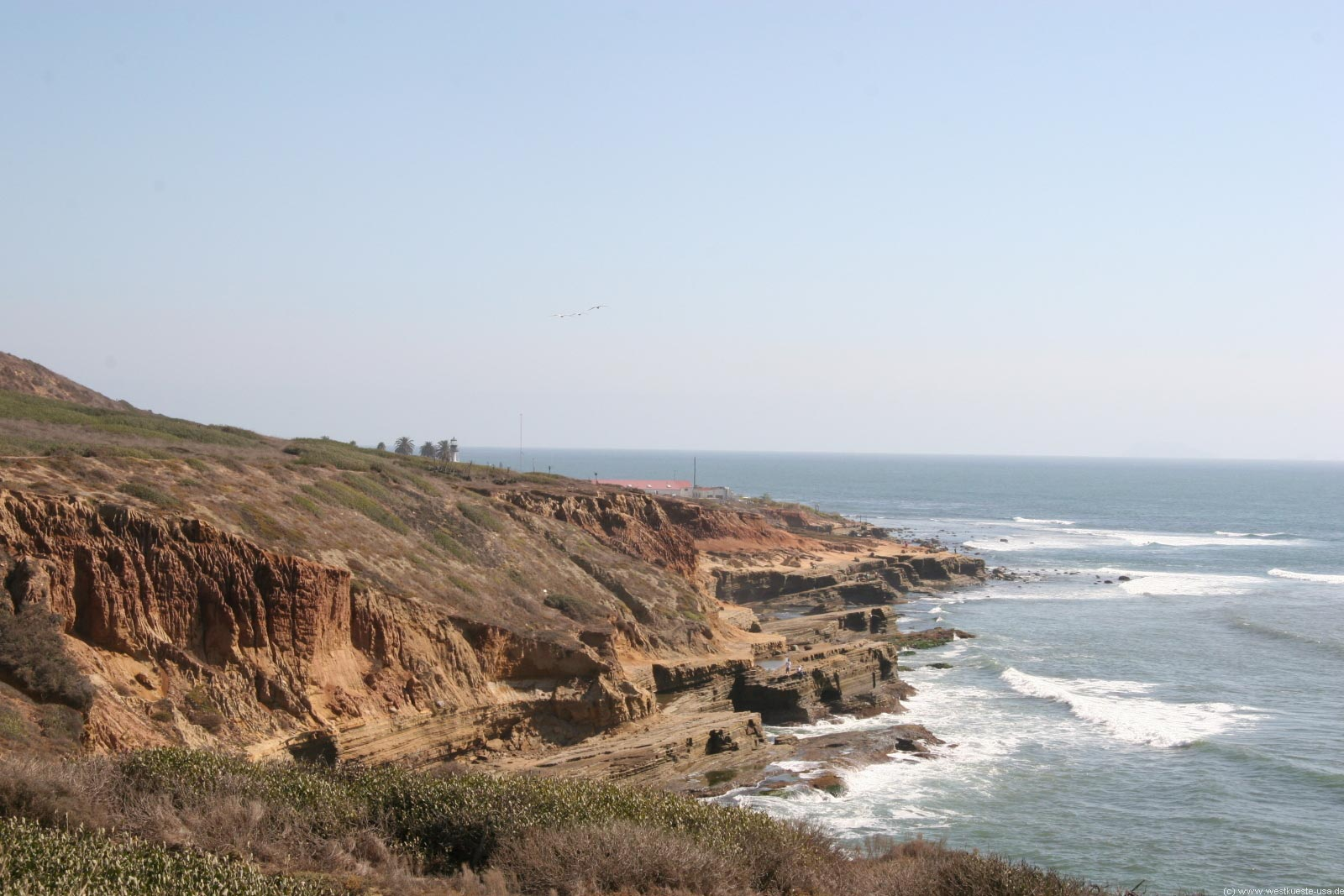Cabrillo National Monument und Old Point Loma Lighthouse in San Diego