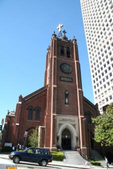 Old St. Mary's Cathedral, Chinatown, San Francisco, Kalifornien