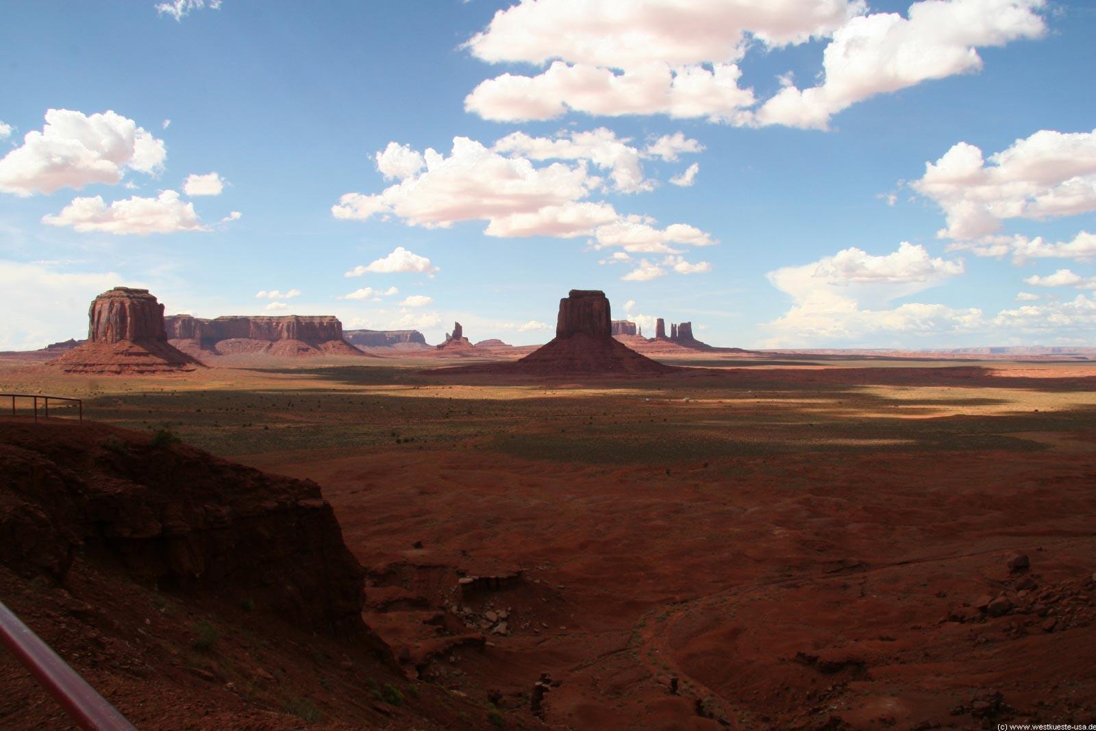 Monument Valley - Rundfahrt auf dem Valley Drive