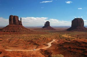 Mitten View, Monument Valley, Arizona