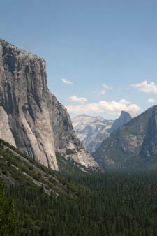 Tunnel View, El Capitan, Half Dome, Yosemite, Kalifornien