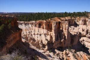 Wall of Windows, Bryce Point, Bryce Canyon, Utah