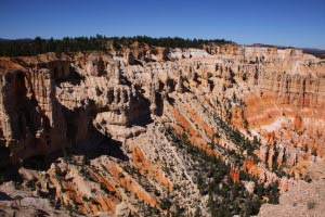 Wall of Windows, Amphitheater, Bryce Point, Bryce Canyon, Utah