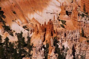 Peek-a-boo trail, Amphitheater, Bryce Point, Bryce Canyon, Utah