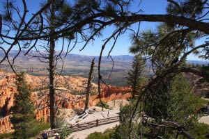 Escalante Mountains, Barney Top, Bryce Point, Bryce Canyon, Utah