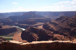 Colorado-Schleife, Shafer Canyon Road, Dead Horse Point State Park, Utah