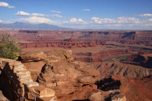 La Sal Mountains, Pyramid Butte, Dead Horse Point State Park, Utah