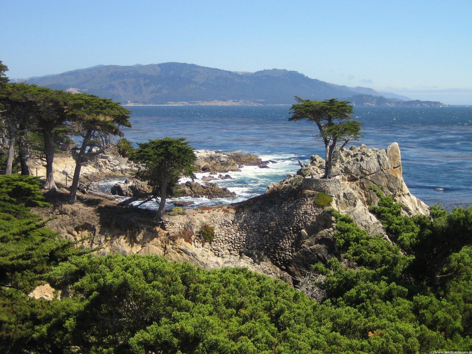 17 Mile Drive Pebble Beach Fanshell Beach Spanish Bay Seal Rock Bird Rock Lone Cypress