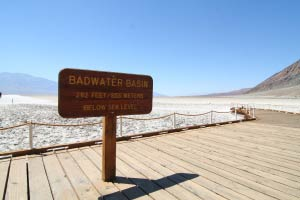Badwater, Death Valley, Kalifornien