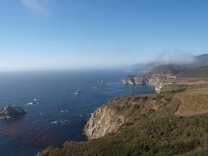 Hurricane Point, Bixby Bridge, Highway One, Big Sur, Kalifornien