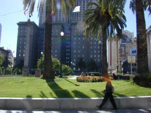 Union Square, Westin St. Francis, San Francisco, Kalifornien