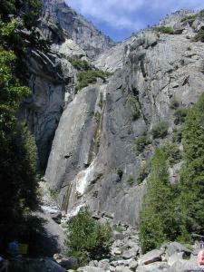 Lower Yosemite Falls, Yosemite, Kalifornien