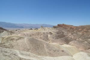 Zabriskie Point, Death Valley, Kalifornien