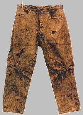 Die älteste jeans der welt eine von strauss noch selbst